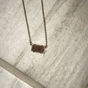 Real Kendra Scott gold necklace